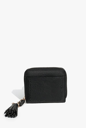Full Zip Braided Wallet