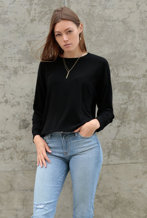 Aspyn French Terry L/S Top