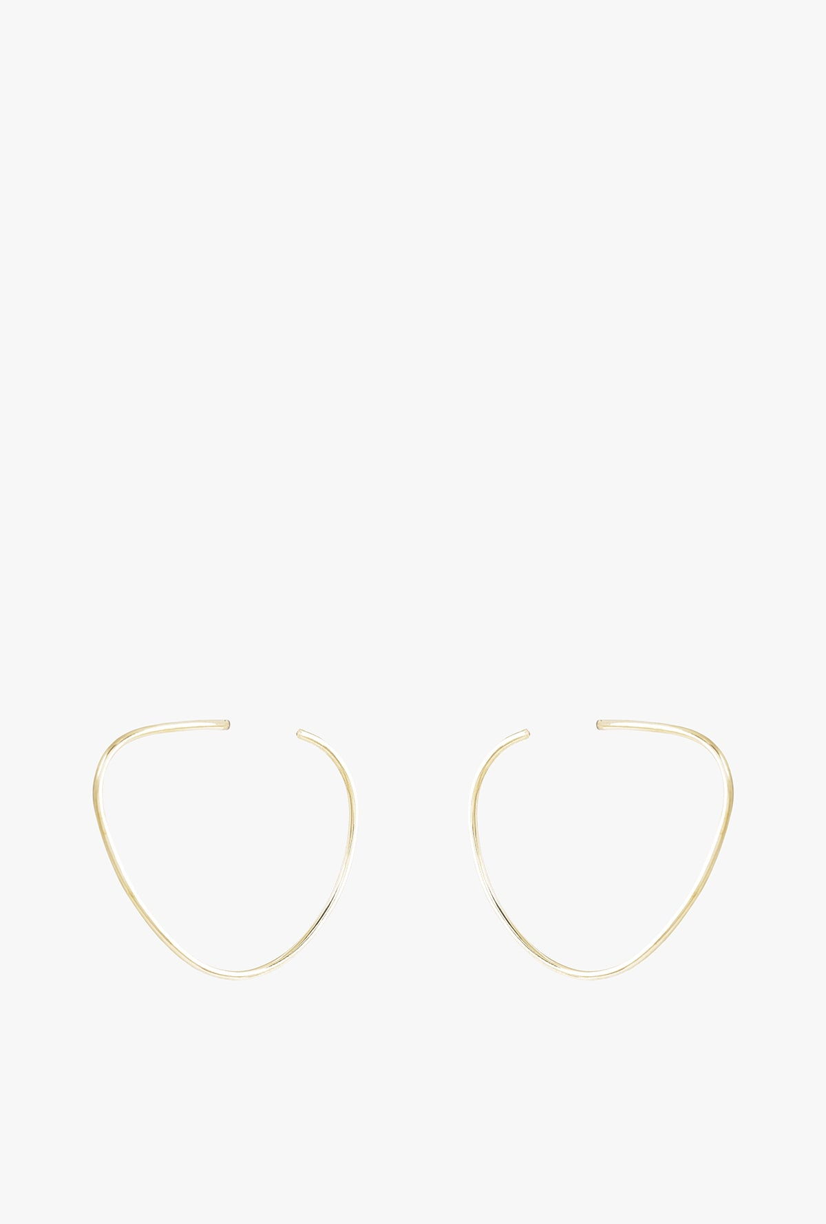 Maxi Sabi Organic Hoop Earrings