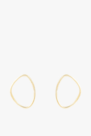 Petite Sabi Outline Stud Earrings P