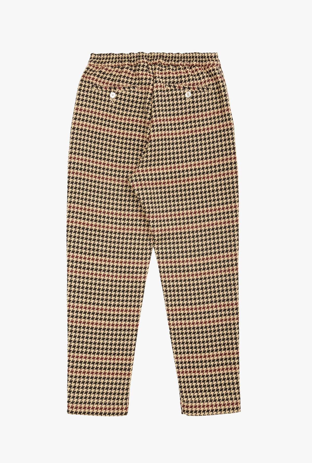 Houndstooth Tapered Pant