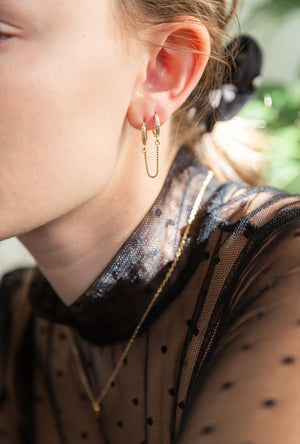Bardi Pave Earrings