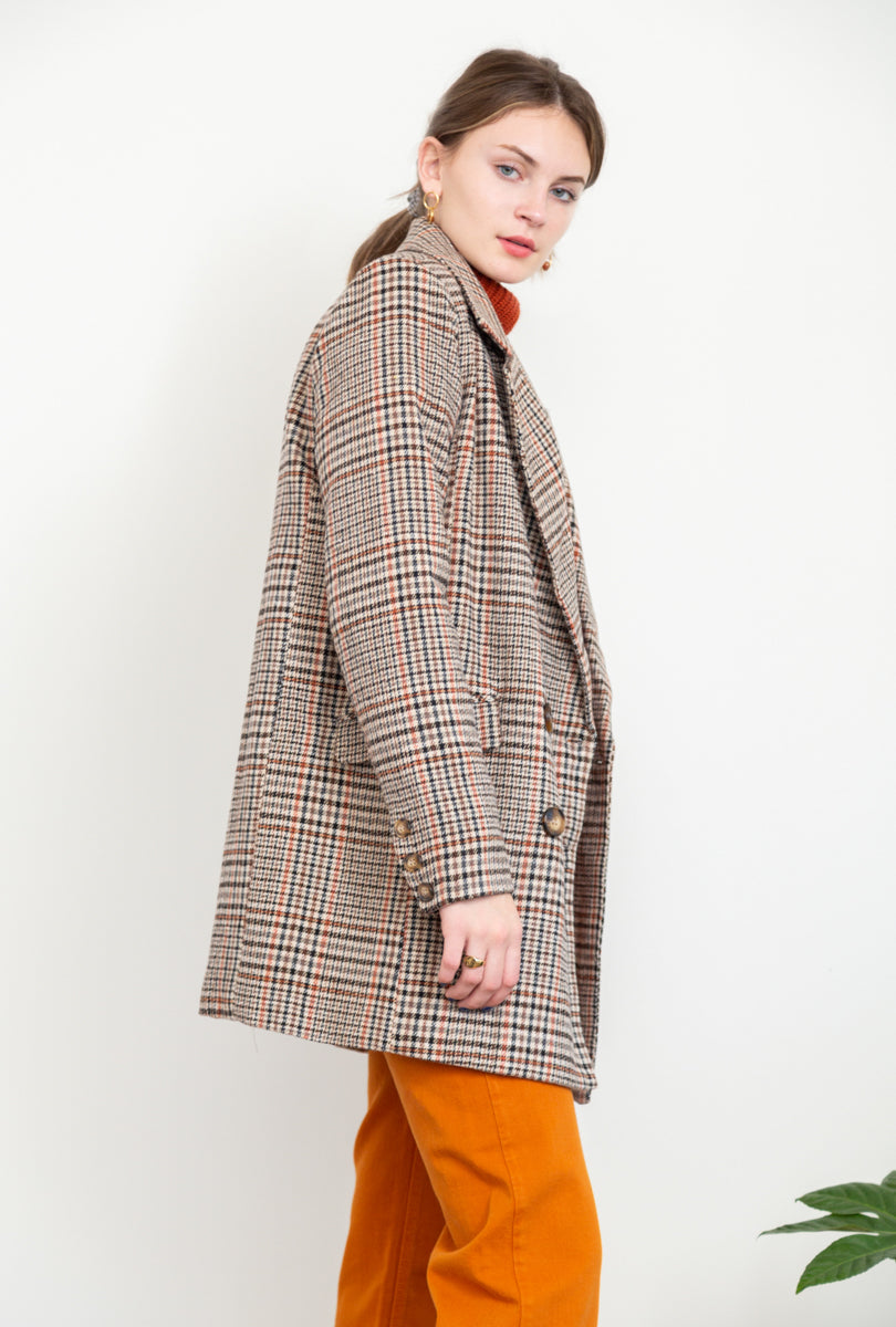 Shiloh Plaid Jacket