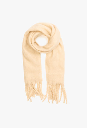 Soft Knit Twist Scarf