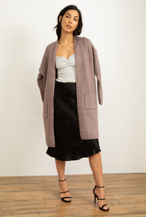 Soft Long Cardigan