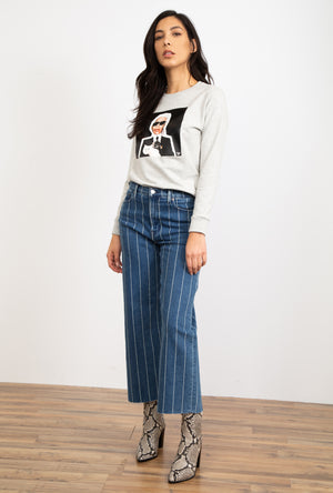 Devon Wide Leg Crop Jean