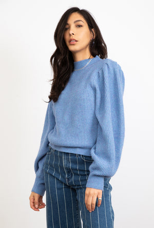 Ruth Puff Shoulder Sweater