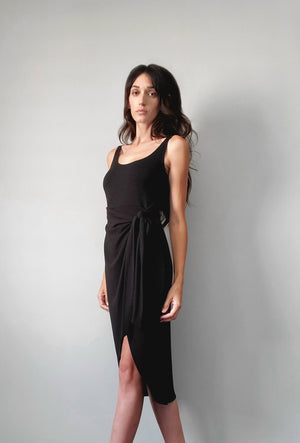 Eva Tie Side Dress