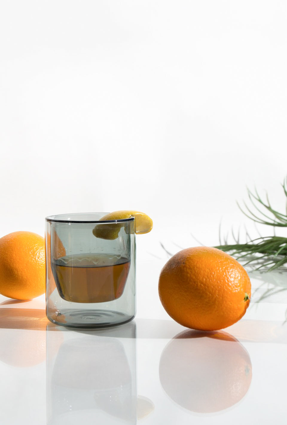 6oz Double Wall Glasses-Set of Two