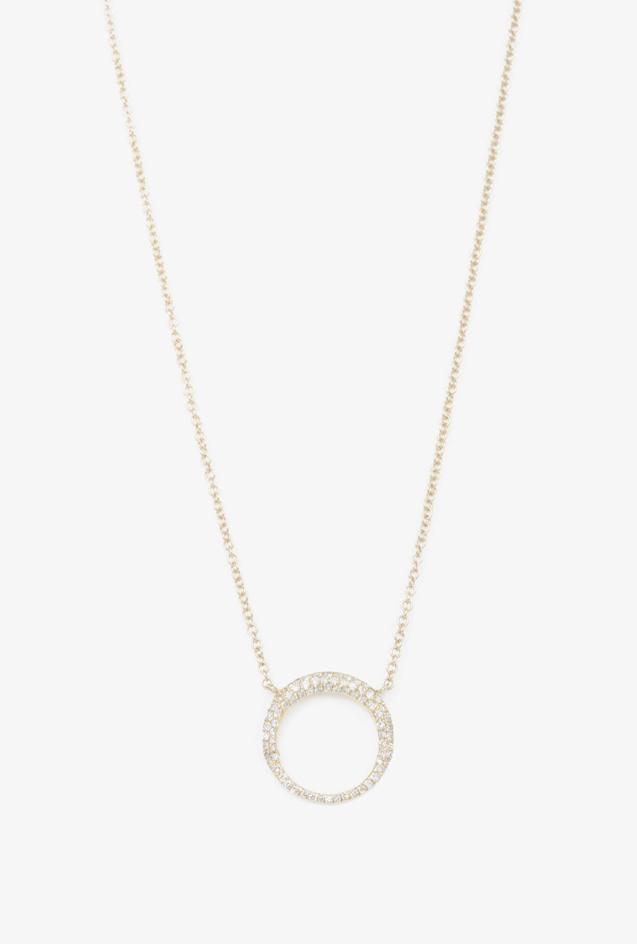 Pave Small Balloon Necklace
