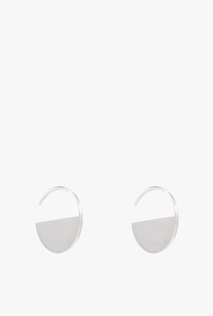 Half Moon Threader Earrings