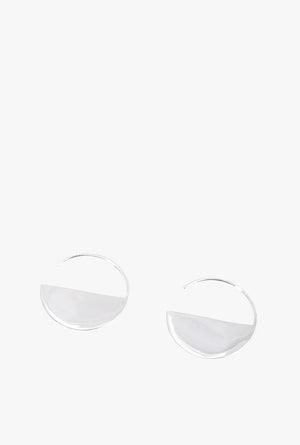 Half Moon Threader Earrings P