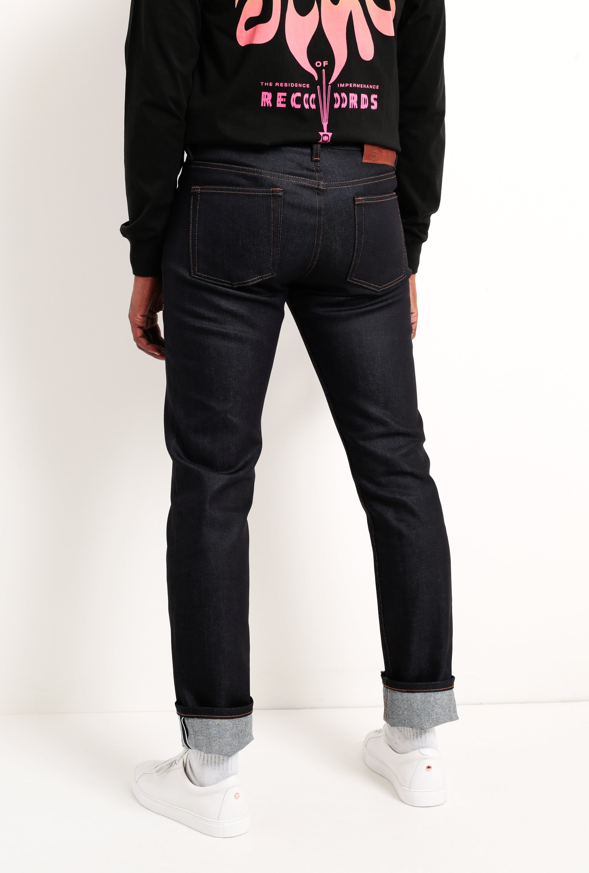 Weird Guy Jean in Nightshade Selvedge