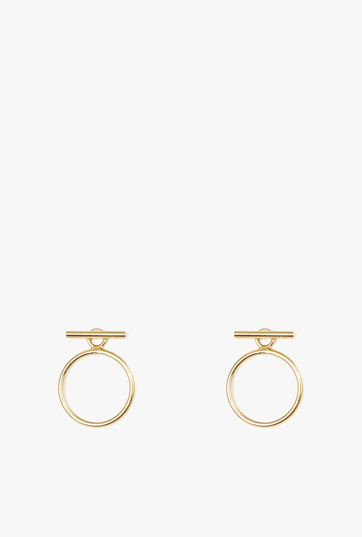 Circle Ear Jacket Earrings P