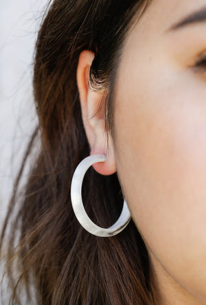 Olib Medium Hoop Earrings P