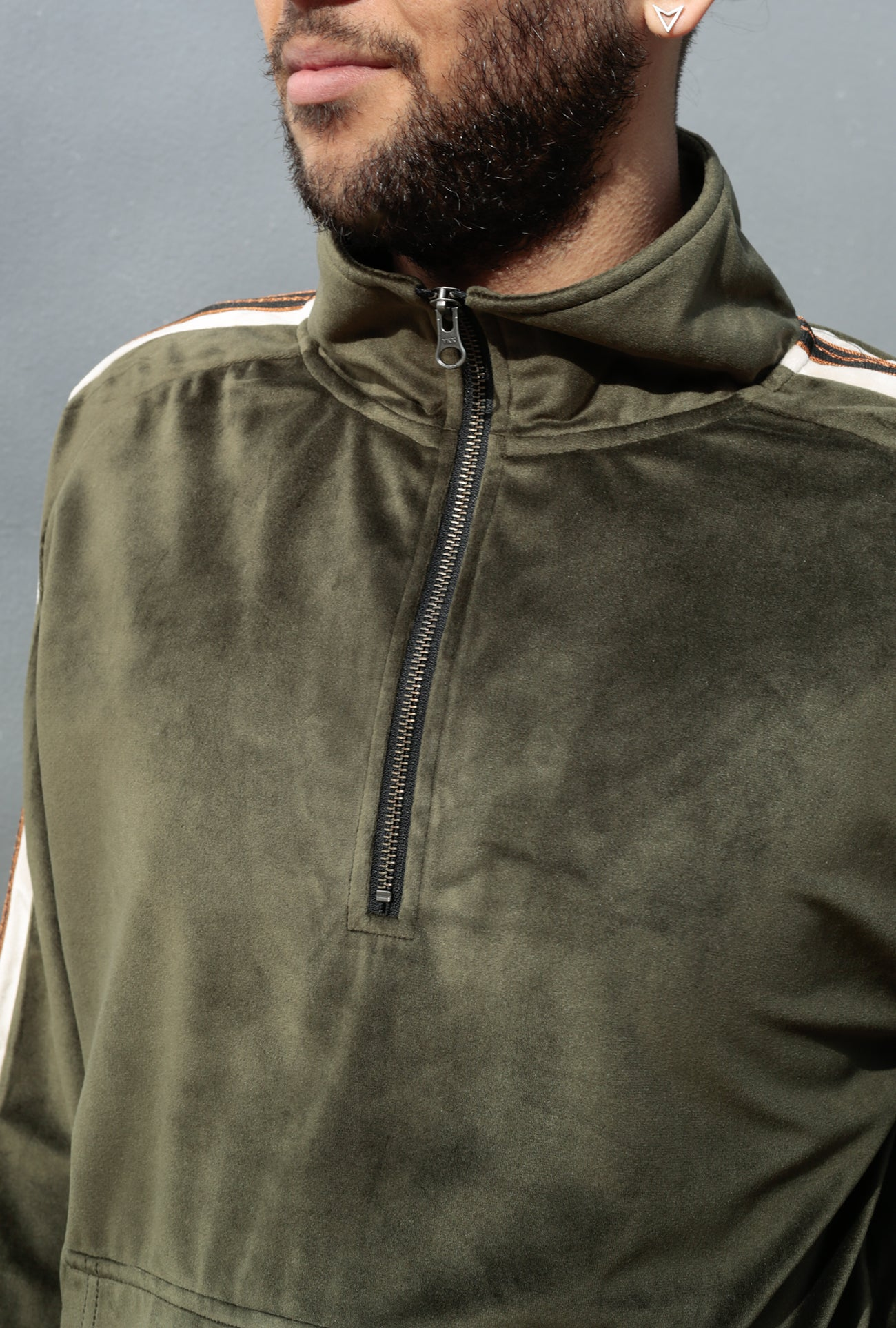 Track Qtr Zip Pullover