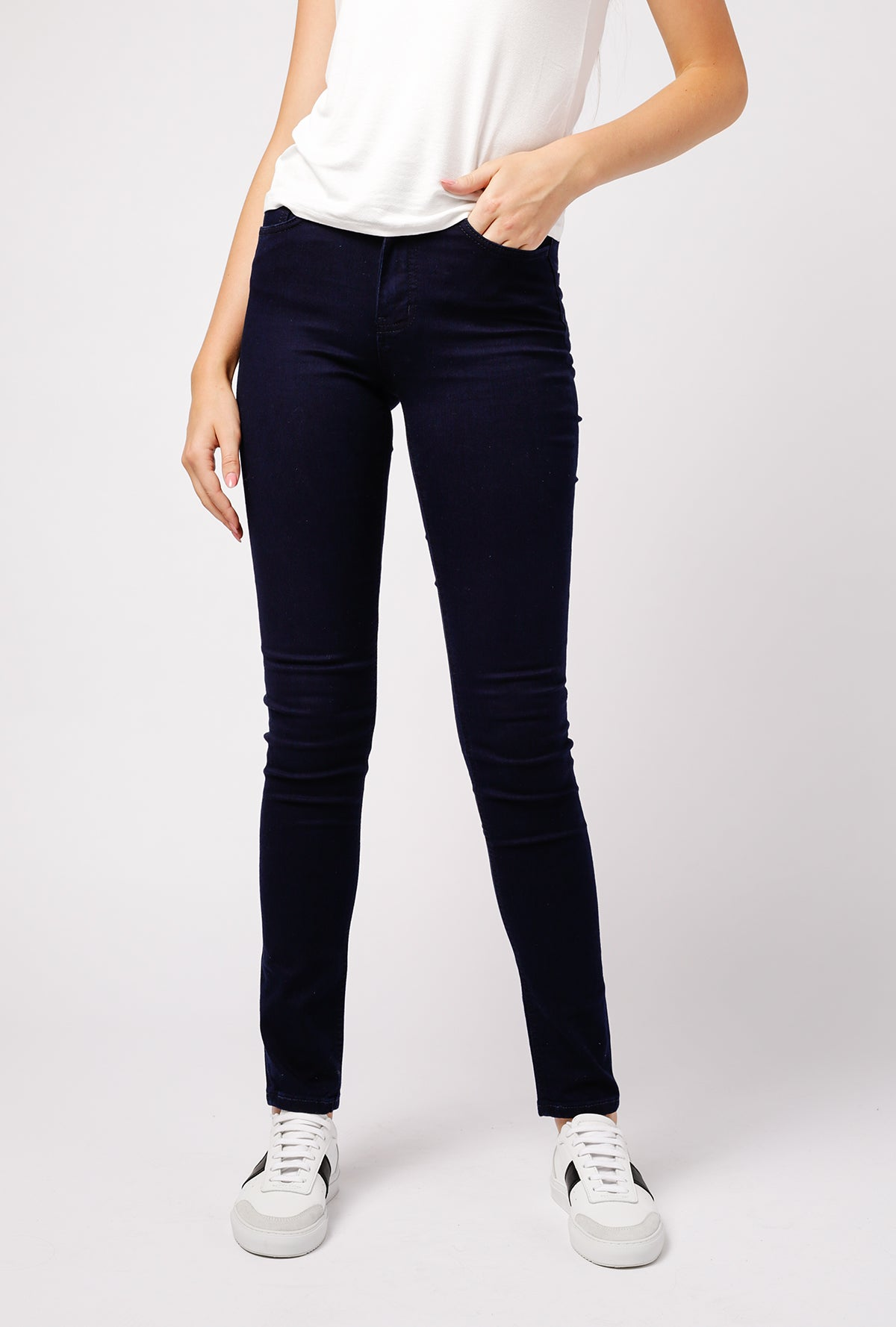 High Skinny Super Stretch Jean - Lightweight Indigo