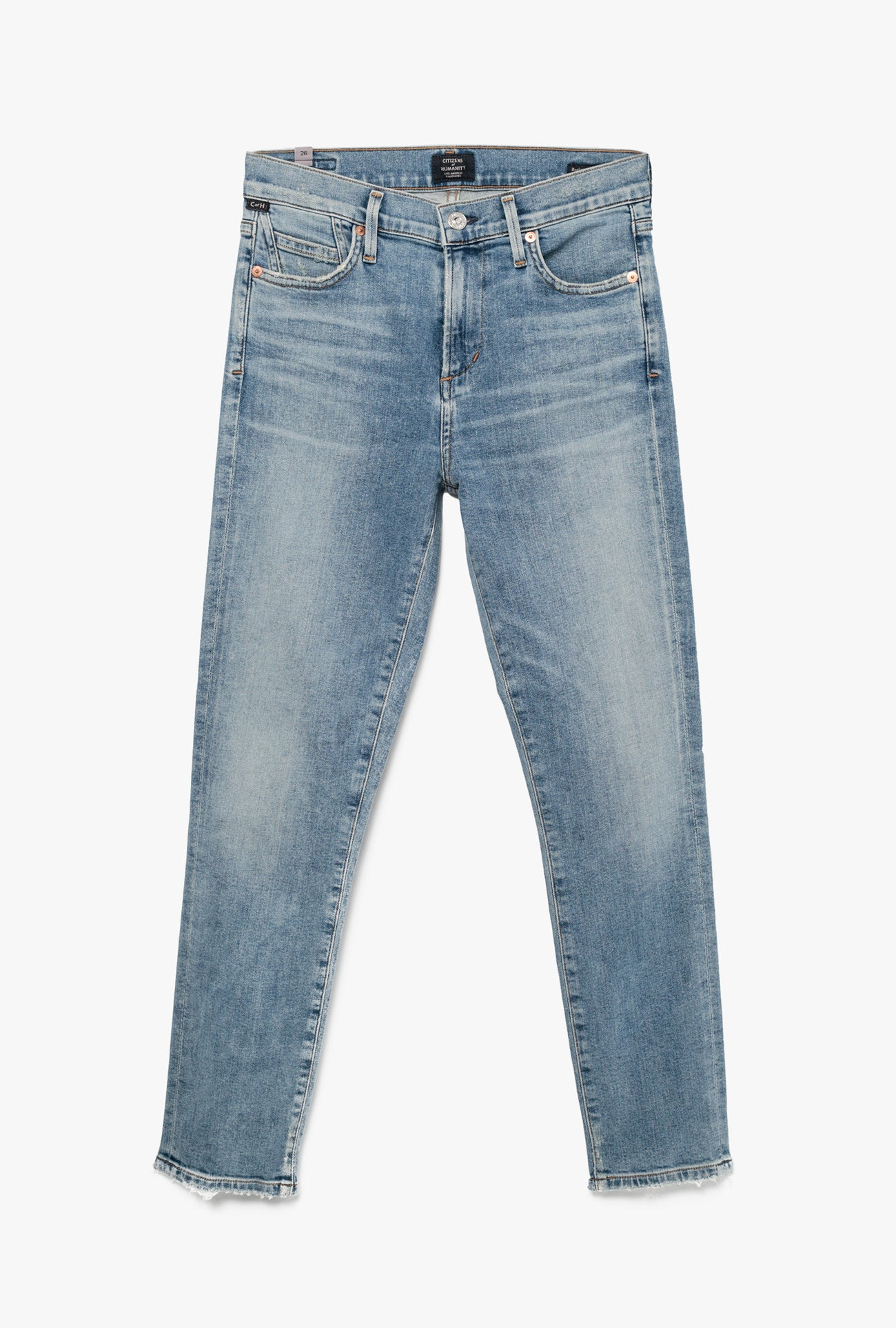 Rocket Crop High Rise Skinny Jean