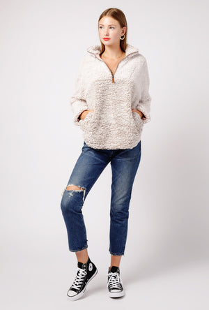 Fluffy Fleece Sweater