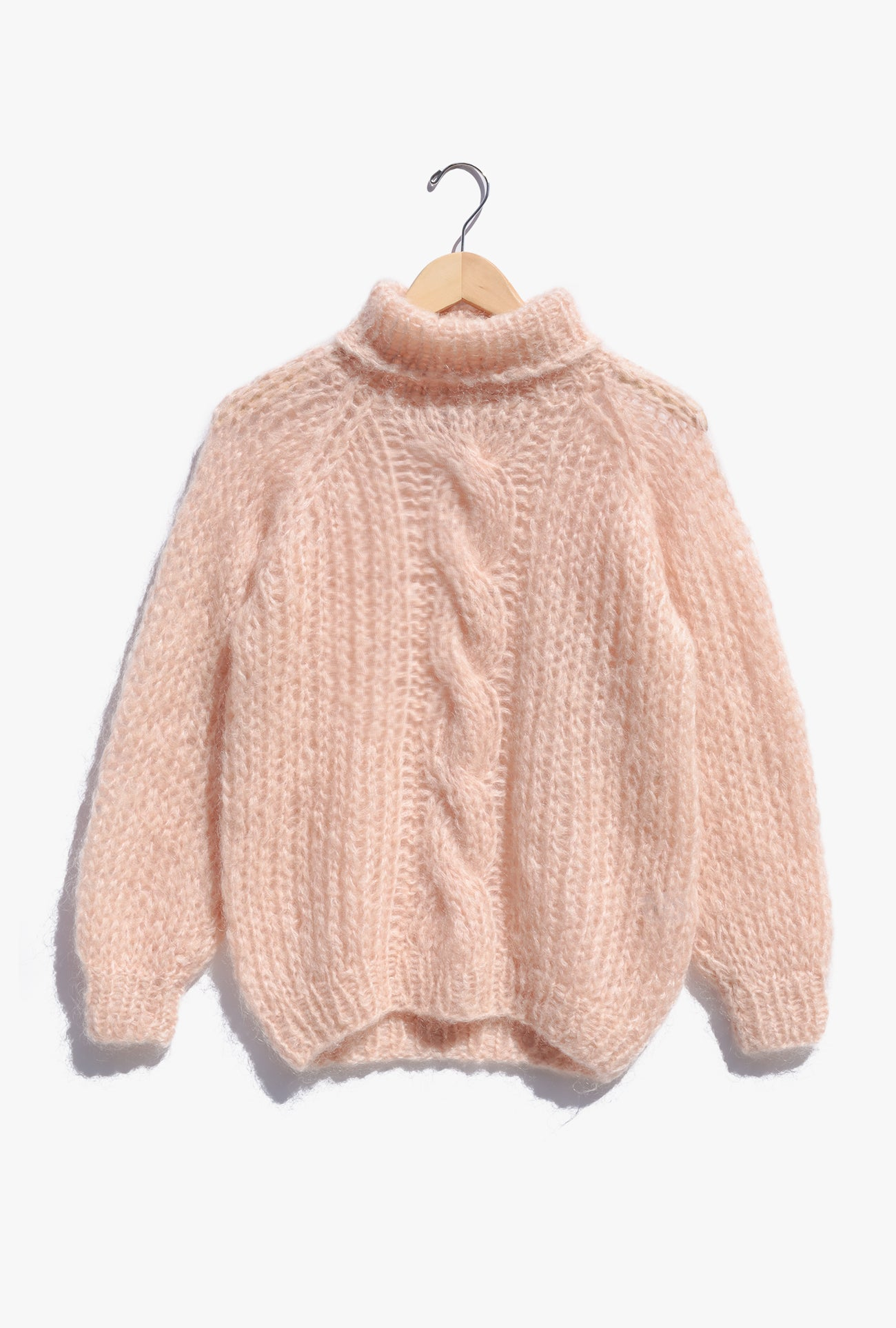 Mohair Cable Sweater