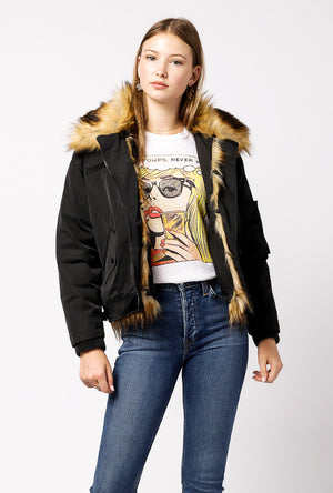 Fur Collar Waterproof Jacket