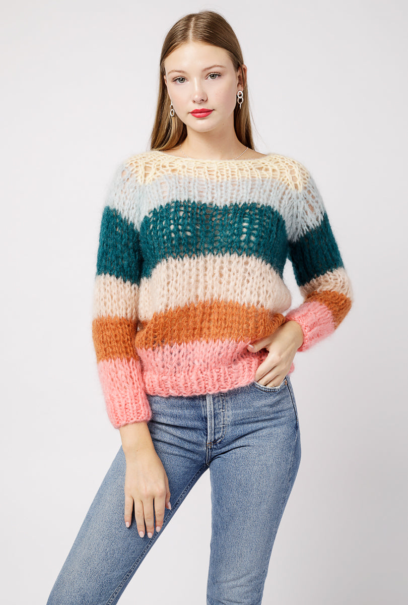 Basic Striped Sweater