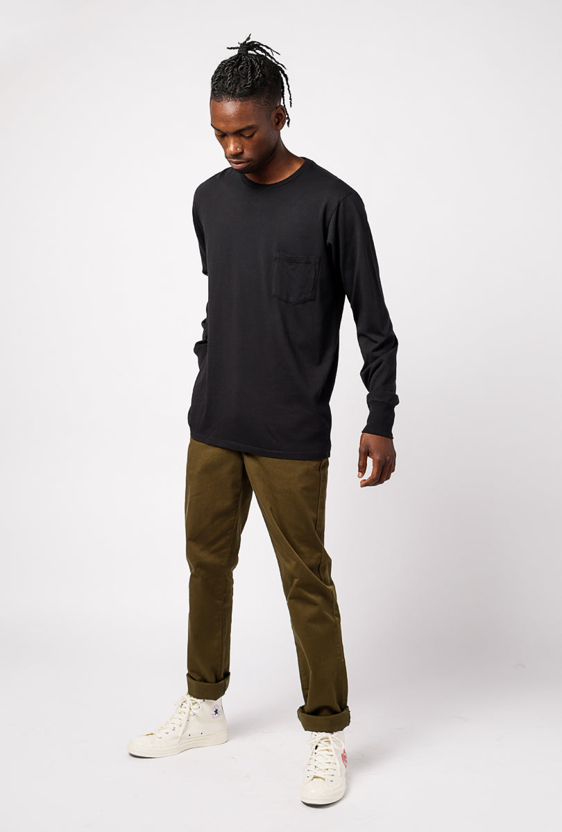 #71 Tailored L/S Pocket Tee
