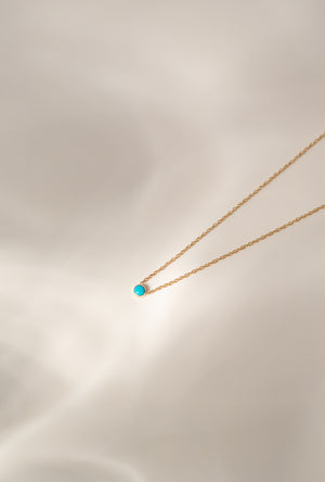16in Turquoise Necklace