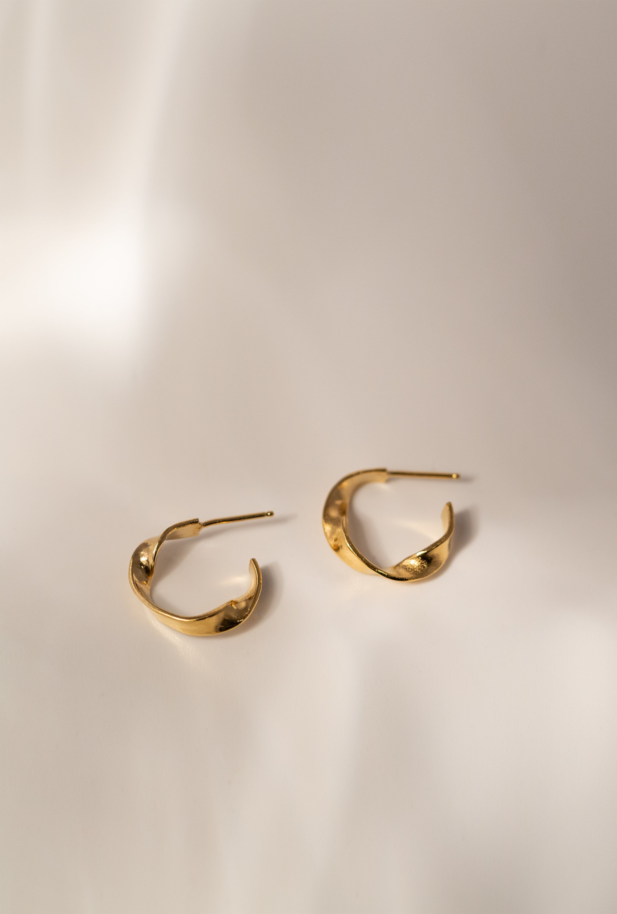 Palma Hoop Earrings - Gold
