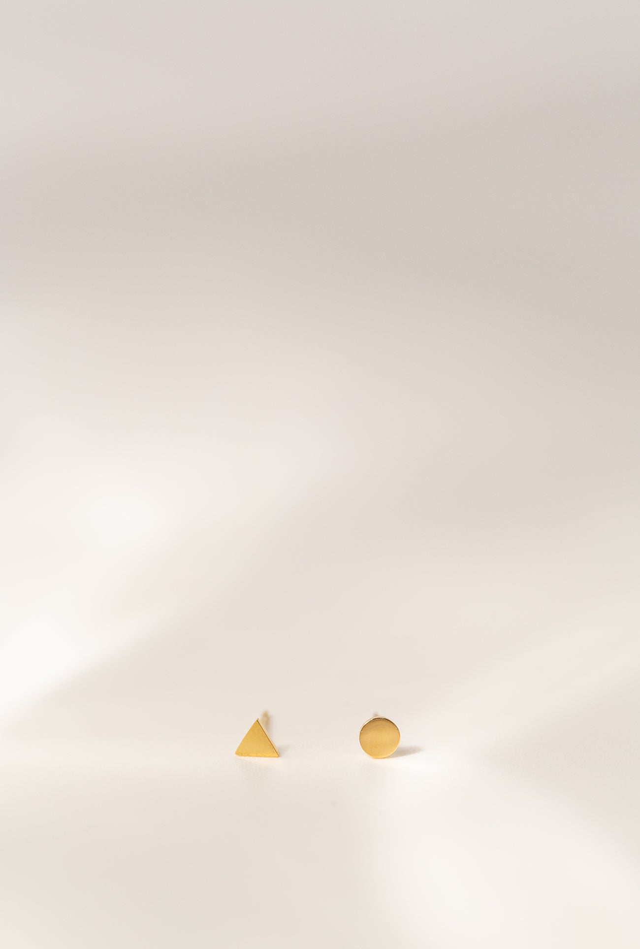 Geometric Duo Stud Earrings