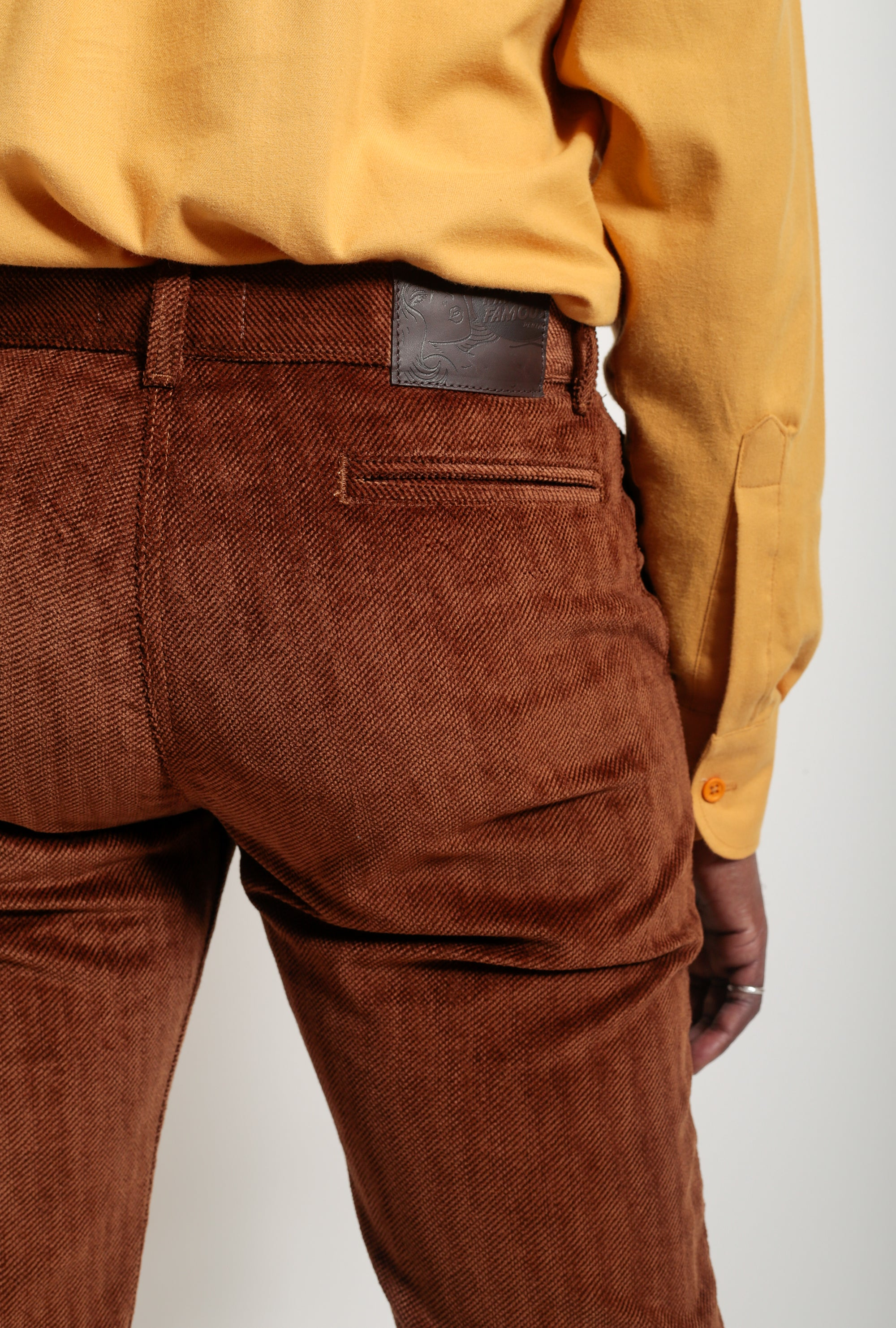 Heavy Velvet Twill Tapered Chino