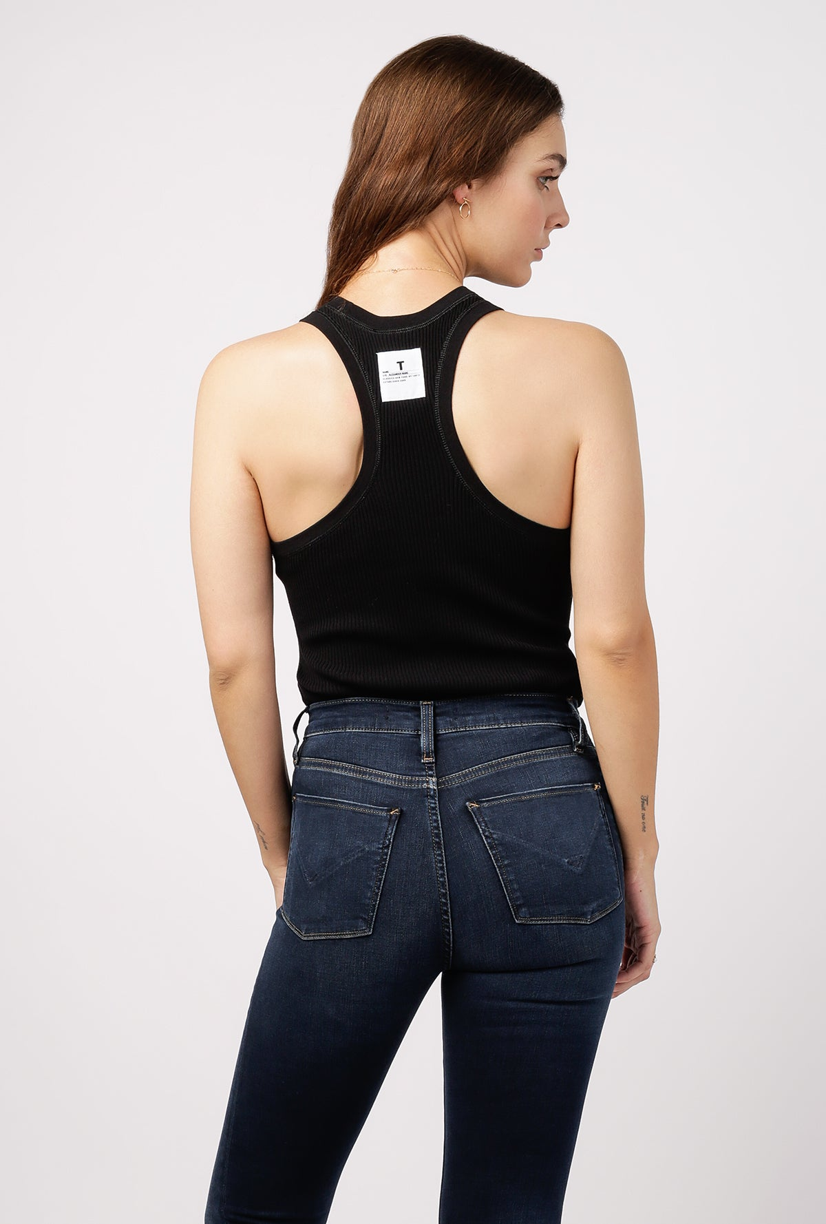 Coverstitched Racerback Tank