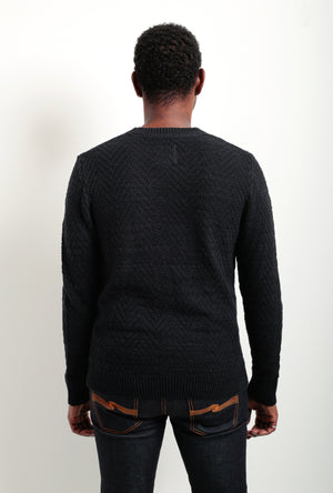 Herringbone Crew Sweater