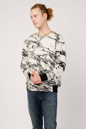 Graham Marble Knit Sweater