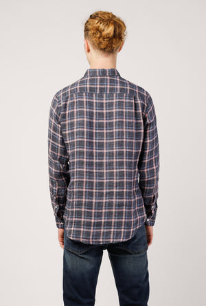 Chatham Linen Flannel Washed Shirt