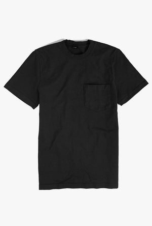 8 oz Bison Pocket Tee in Small