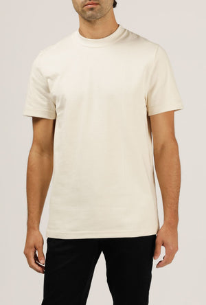 8 oz Bison Tee - Natural