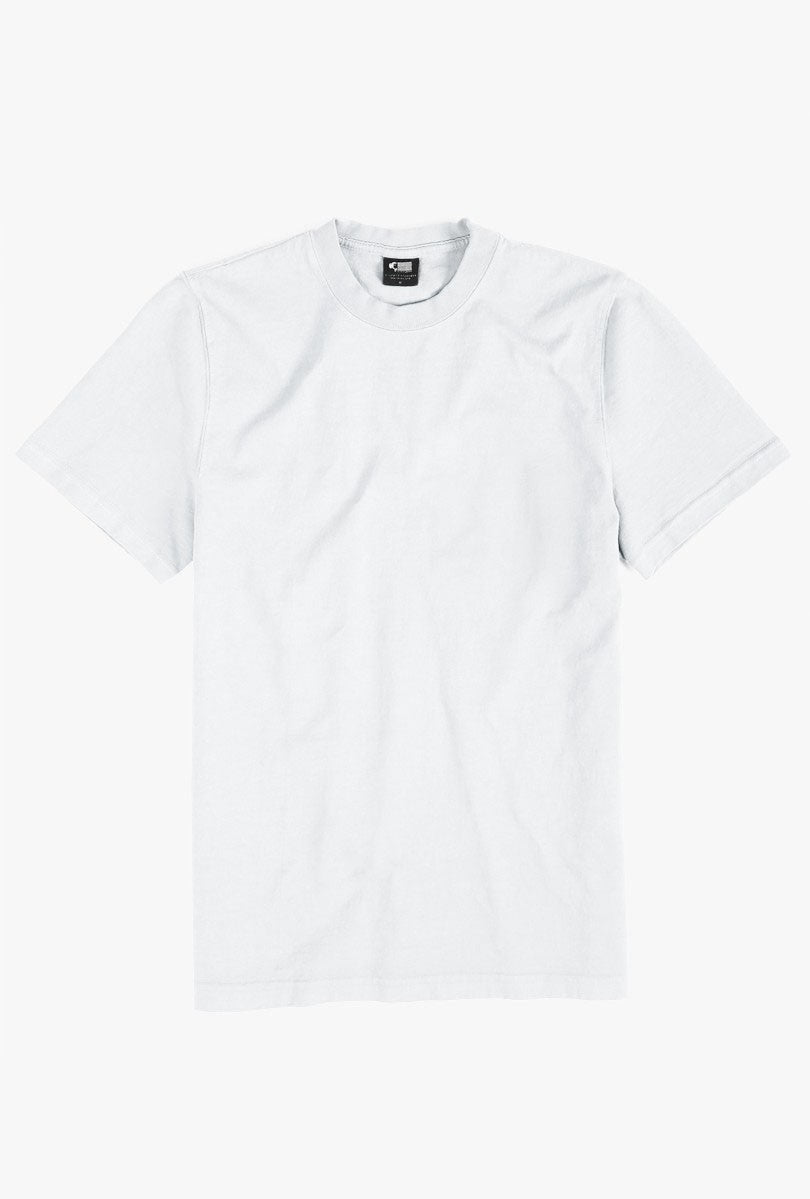 8 oz Bison Tee - White