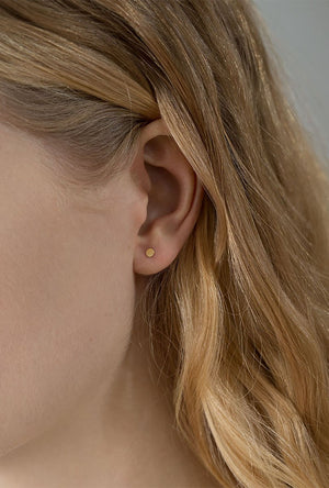 Small Sequin Stud Earring - Single
