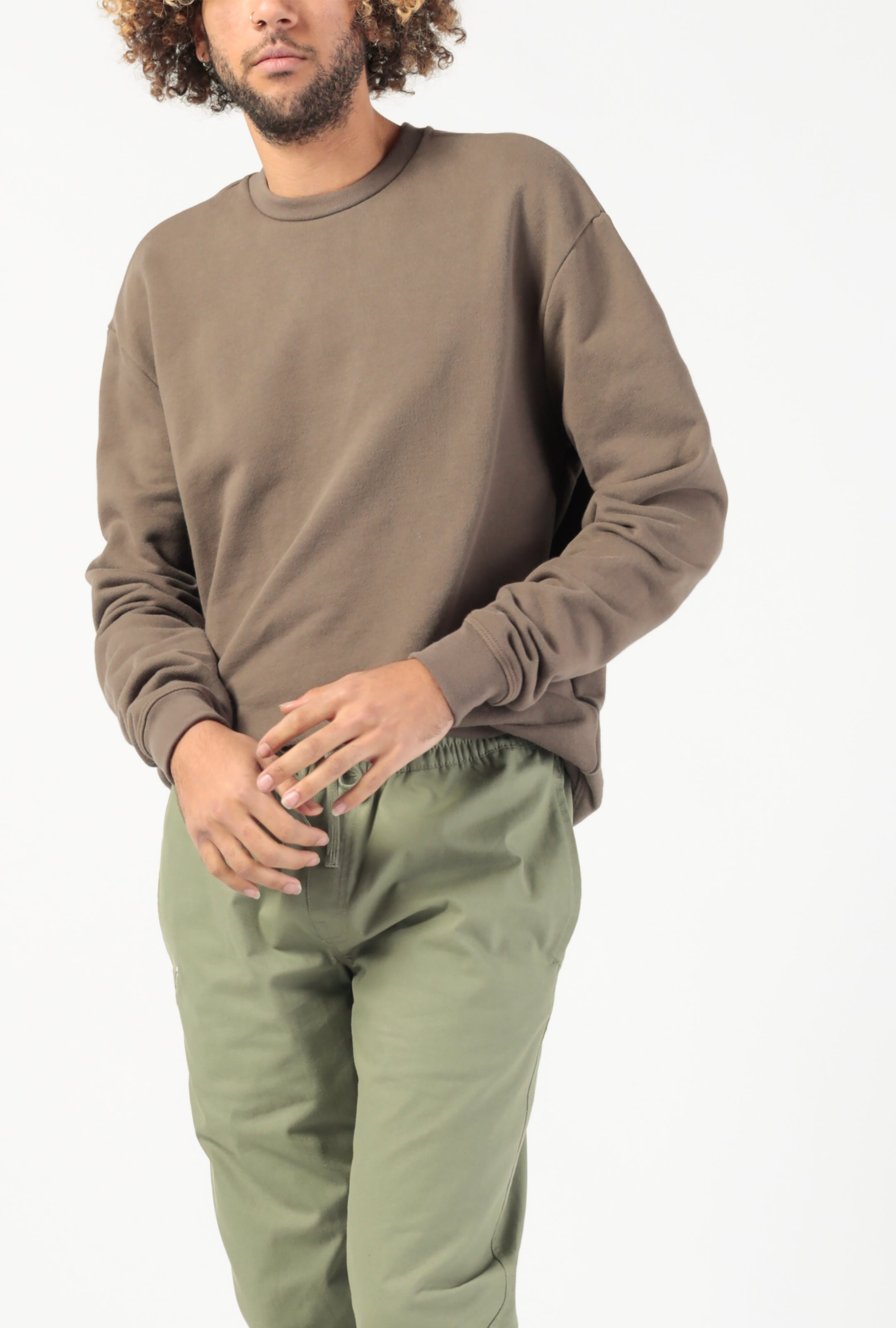 Oversized Crewneck Pullover