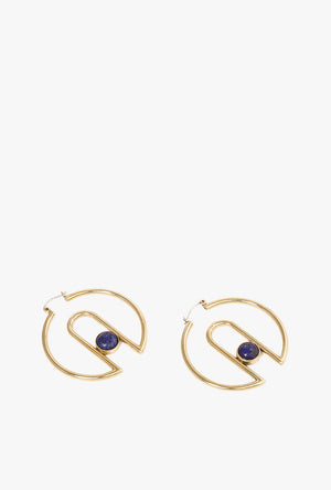 Arch Hoop Earrings