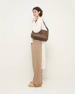 Billow Structured Bag in Mushroom