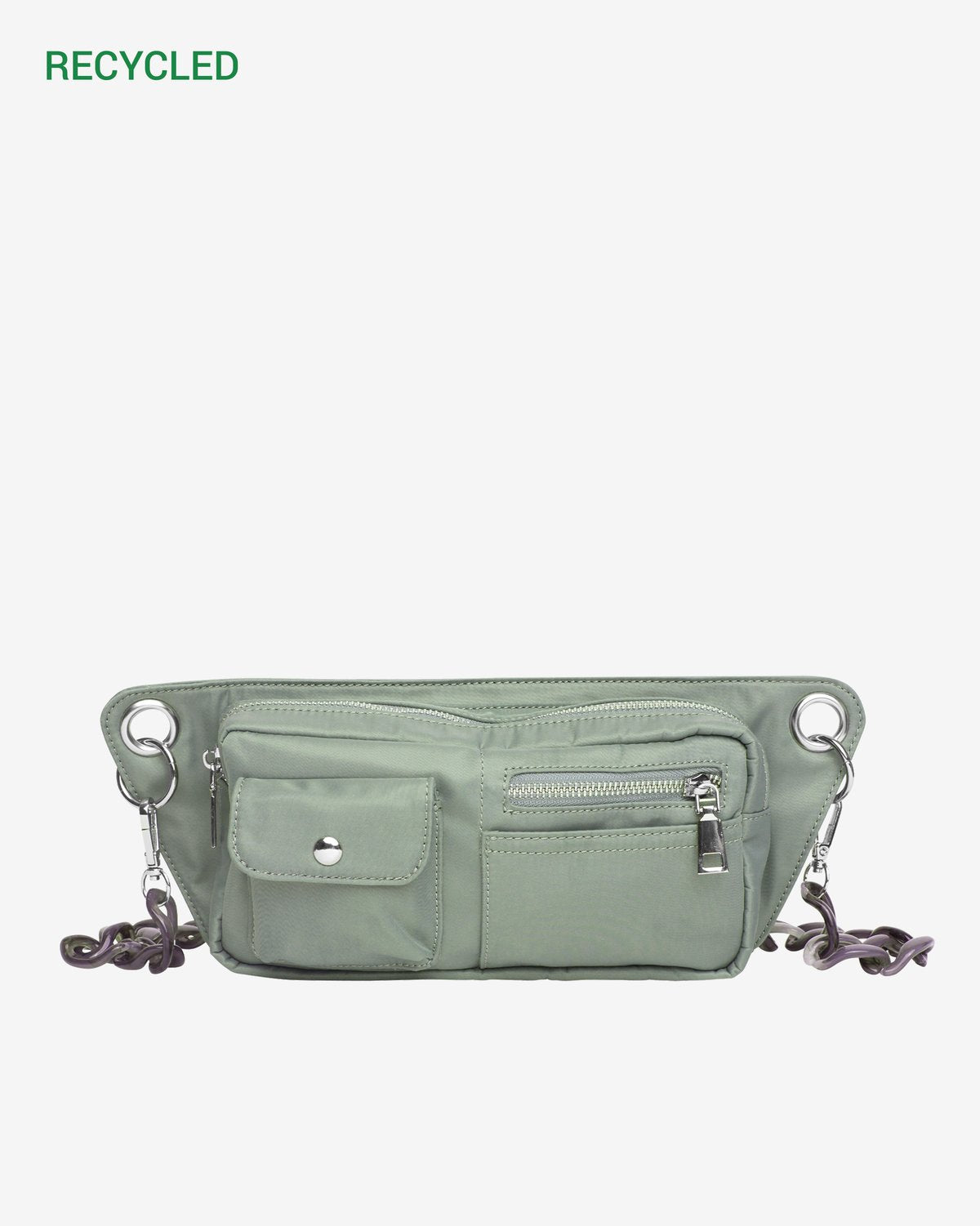 Brillay Nylon Bag in Green