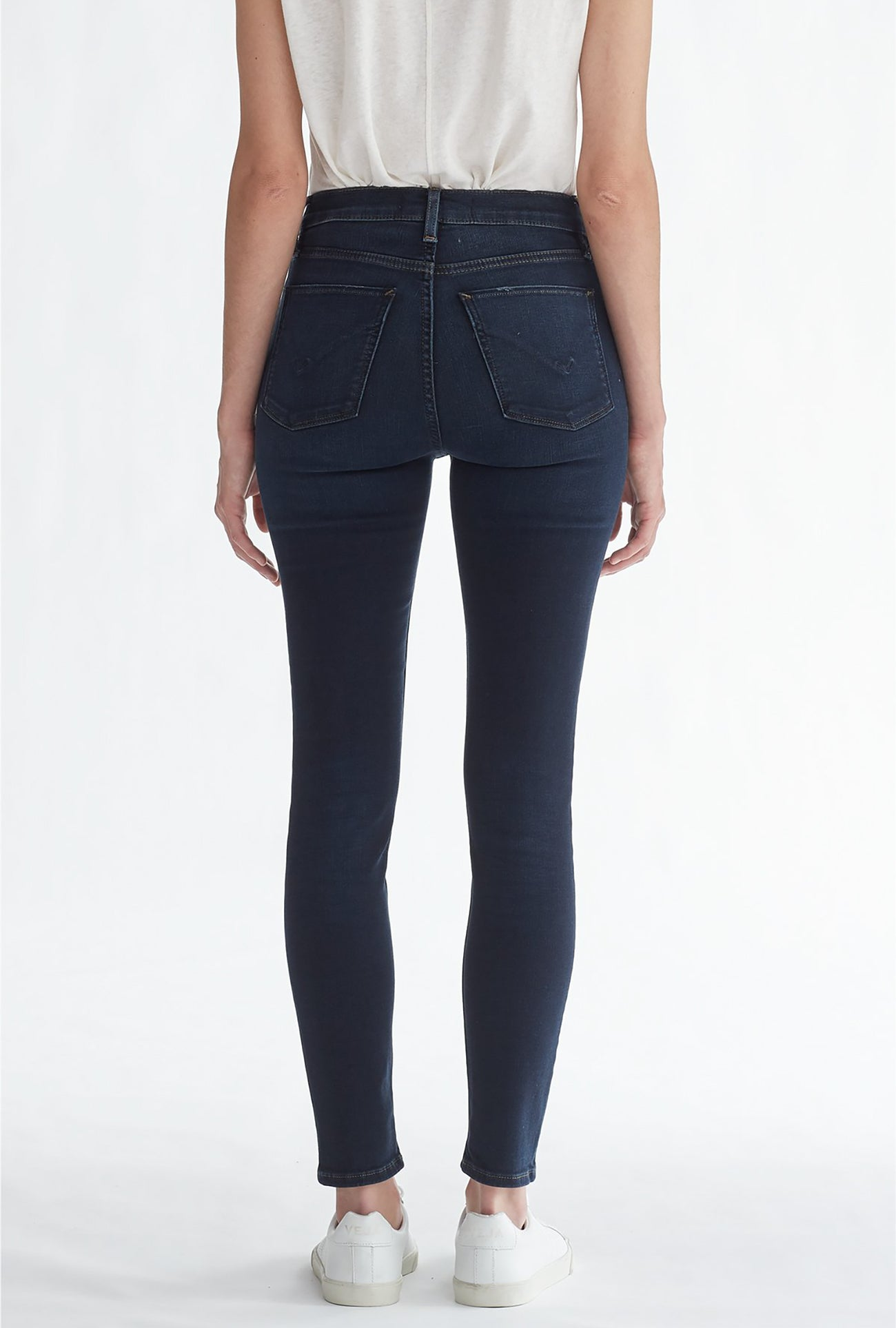 Barbara High Waist Super Skinny Ankle Jean