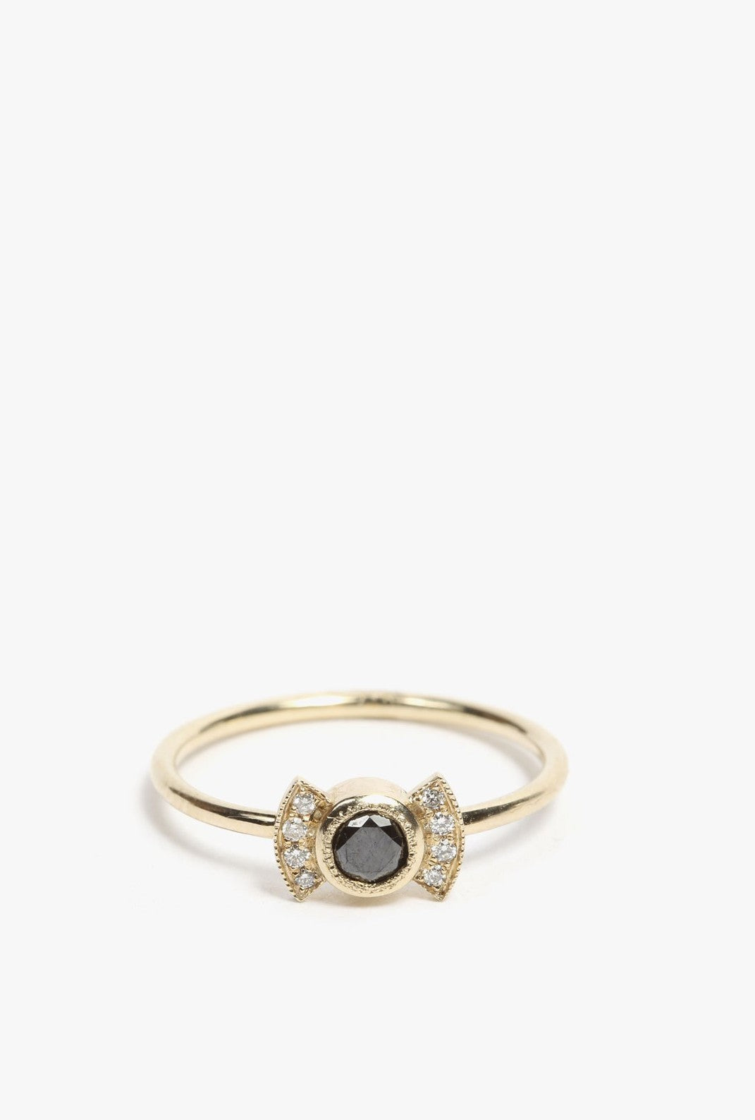 Black Diamond Deco Ring