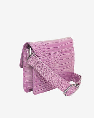 Cayman Pocket Bag in Pastel Purple