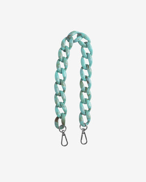 Chain Handle in Dusty Green