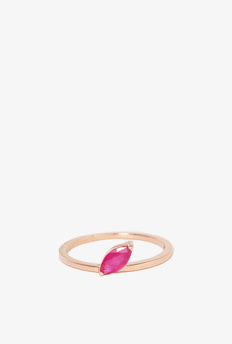 Define Deluxe Ruby Ring