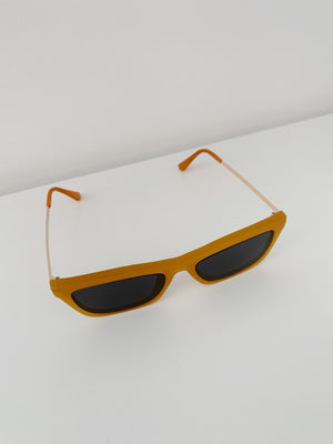 Bowery Sunglasses in Mustard