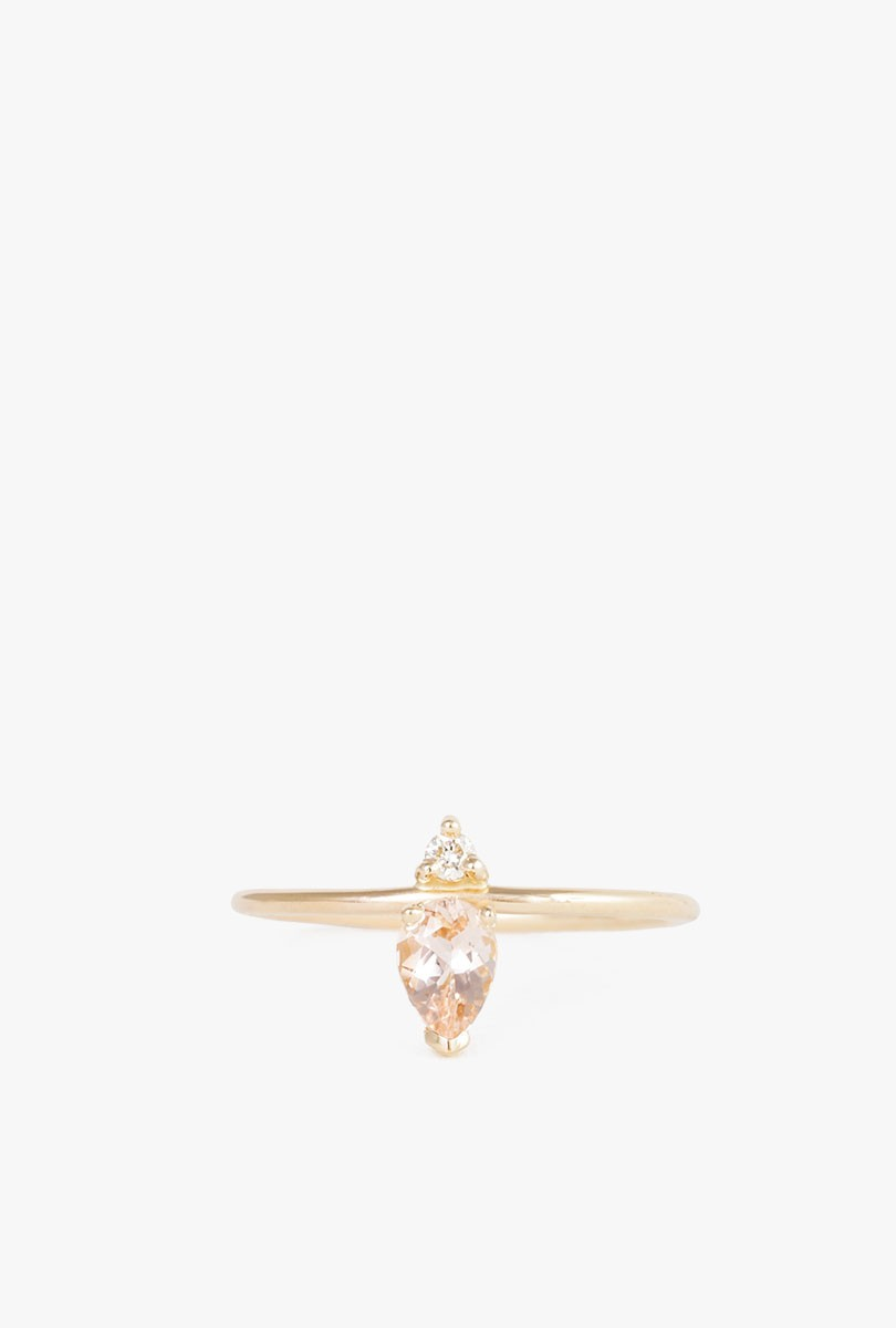 Emilia Morganite Ring